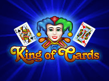 Игровой автомат King Of Cards в казино Вулкан