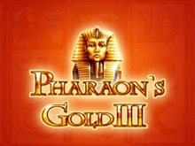 Аппарат Pharaohs Gold III в клубе Вулкан